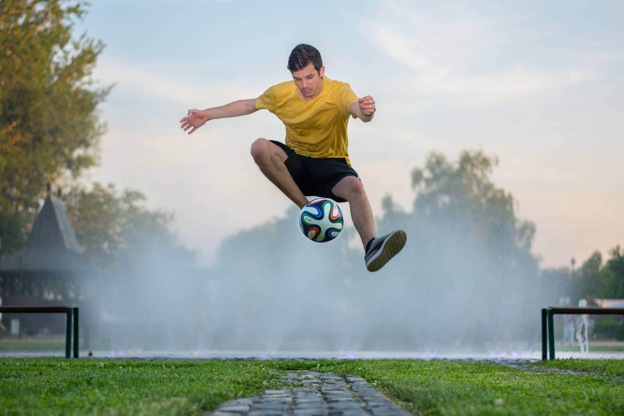 Kvartam football freestyle